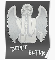 Don't blink - Weeping Angels Poster