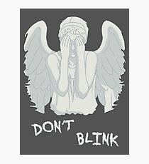 Don't blink - Weeping Angels Photographic Print