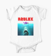 jaws roblox One Piece - Short Sleeve