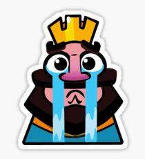 Clash Royale - Emoticon SAD Sticker
