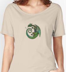 Iridescent Green Dragon Women's Relaxed Fit T-Shirt