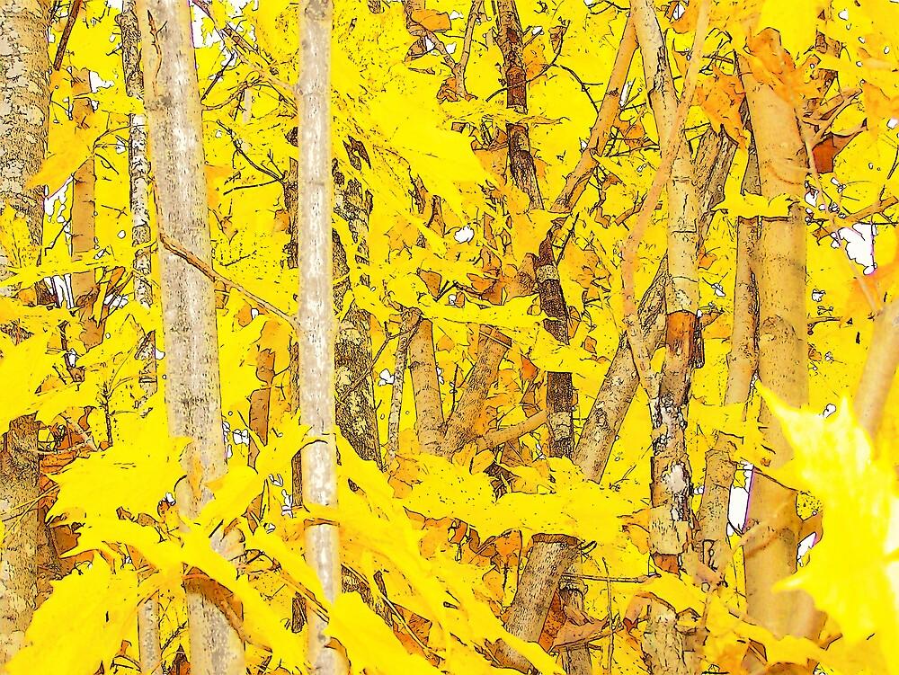 Golden Autumn by Gene Cyr