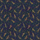 Tropical Bud Pattern 1 by lottibrown