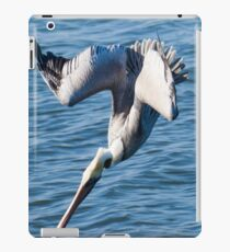 Diving Pelican iPad Case/Skin