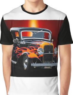 1932 Ford 'Classic Hot Rod' Coupe Graphic T-Shirt