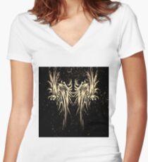 RightOn Faceless Women's Fitted V-Neck T-Shirt