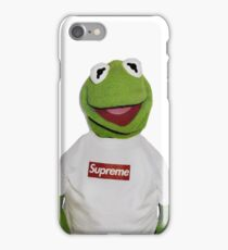 Kermit Supreme iPhone Case/Skin