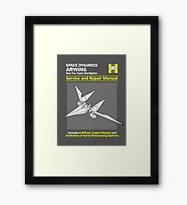 Arwing Service and Repair Manual Framed Print
