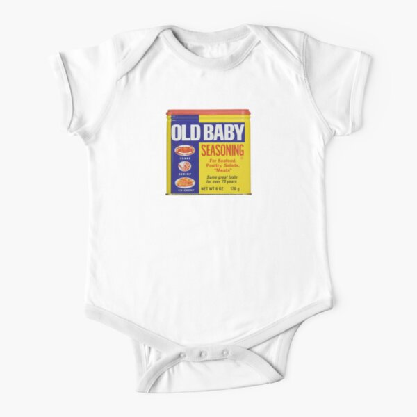 Old Baby Short Sleeve Baby One-Piece