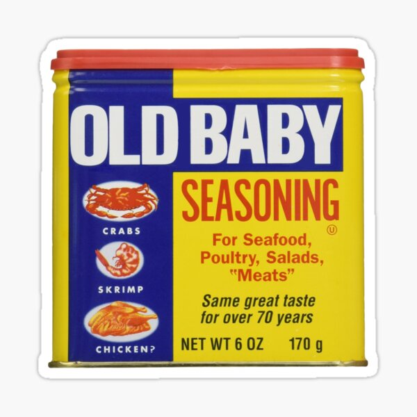Old Baby Sticker