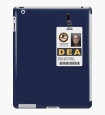 Special Agent in Charge V2 iPad Case/Skin