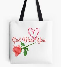 GOD BLESS YOU Tote Bag