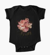 Rose petals with raindrops One Piece - Short Sleeve
