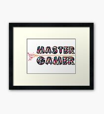Master Gaming Framed Print