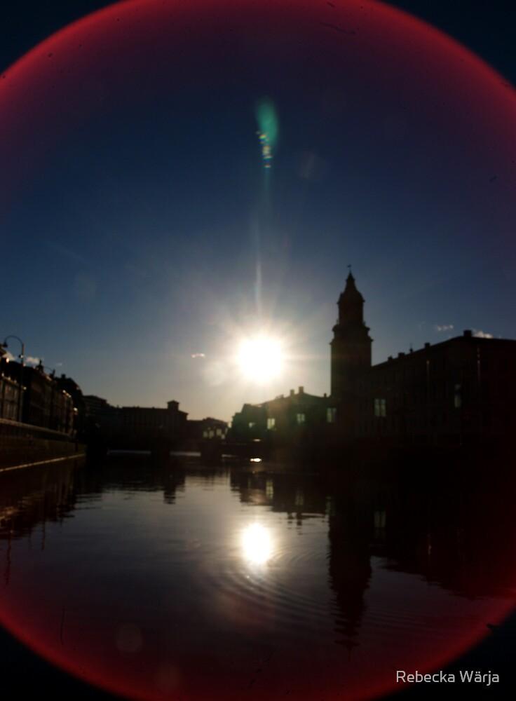 Hit by the sun by Rebecka Wärja