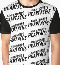 Camiseta gráfica dolor de otras personas