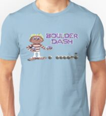 Gaming [C64] - Boulder Dash Unisex T-Shirt