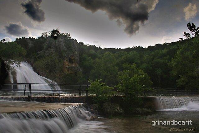 Turner Falls by grinandbearit