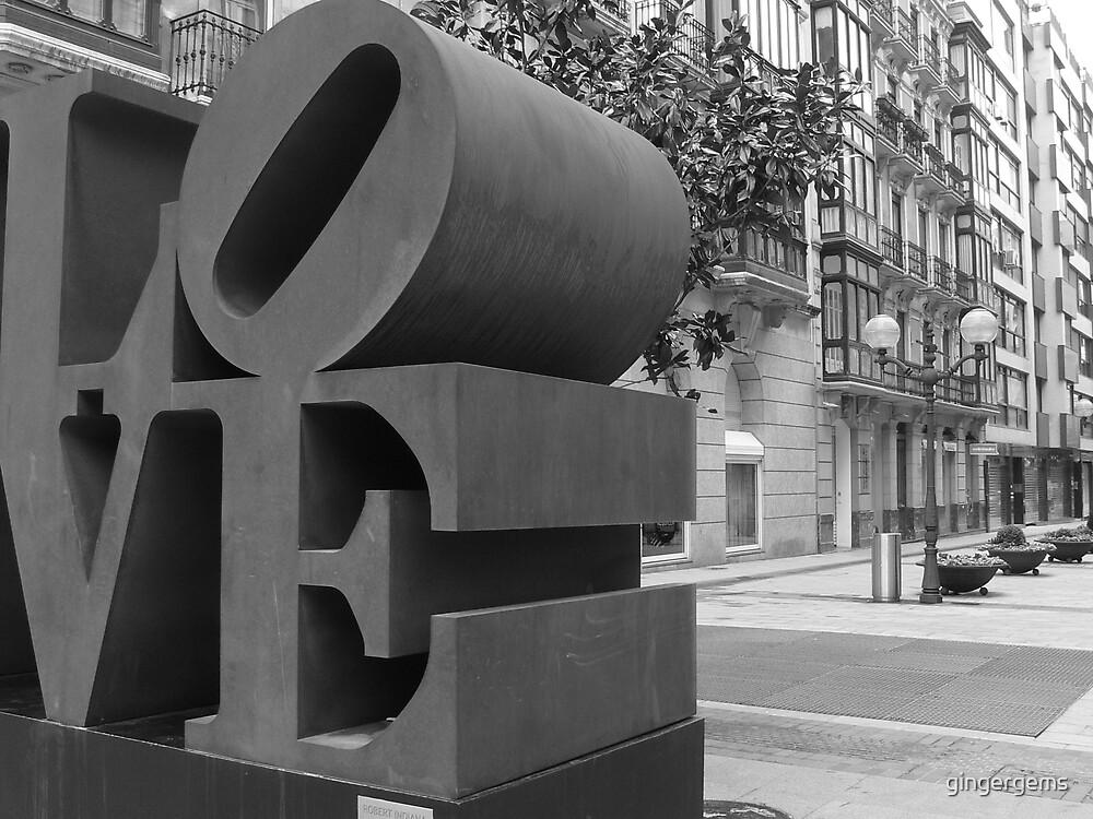 Bilbao love sculpture by gingergems