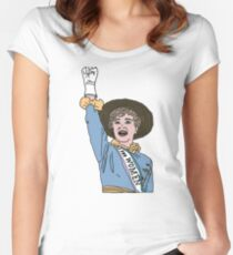 Sister Suffragette Women's Fitted Scoop T-Shirt