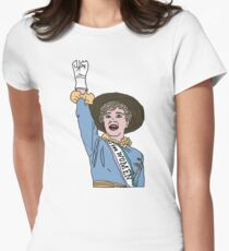 Sister Suffragette Womens Fitted T-Shirt