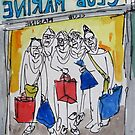 shopping with the girls by pobsb