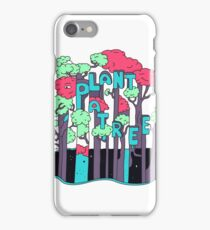 Plant a Tree iPhone Case/Skin
