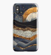 Metallic Mountains iPhone Case/Skin