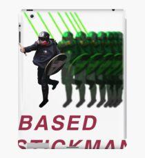 Based Stickman iPad Case/Skin