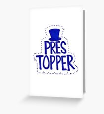 Pres Topper Greeting Card