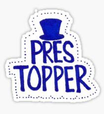 Pres Topper Sticker