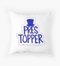 Pres Topper Throw Pillow