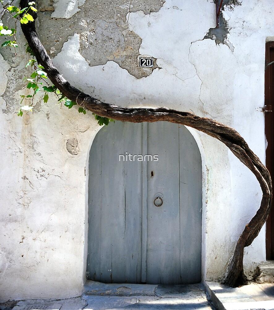 Greek door by nitrams