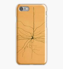 Pyramidal Cell in Cerebral Cortex, Cajal iPhone Case/Skin