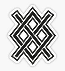 Gungnir, Odin's spear, Rune Gar, Viking, Magic, Protectiv Symbol Sticker