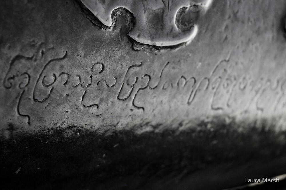 Inscription by Laura Marsh