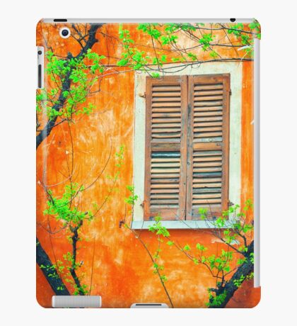 Window with tree branches iPad Case/Skin