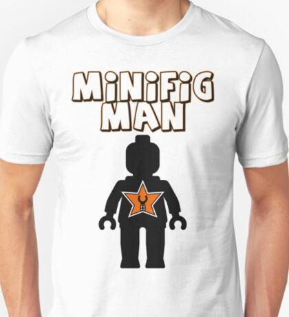 Minifig Man [Black], Customize My Minifig Star Logo T-Shirt