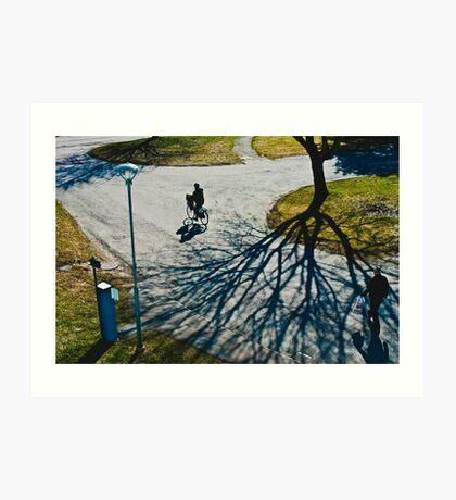 Spring in Karlstad Art Print