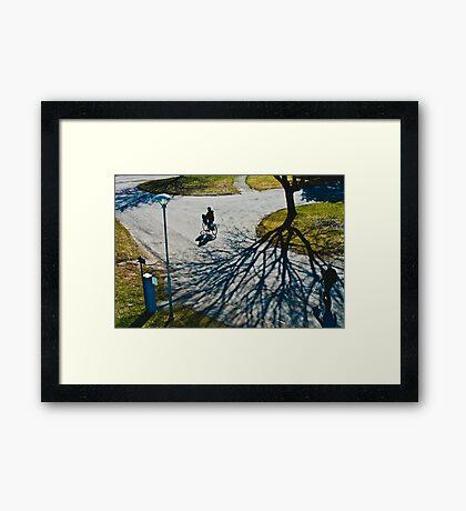 Spring in Karlstad Framed Print