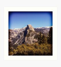 Half Dome, Yosemite Art Print
