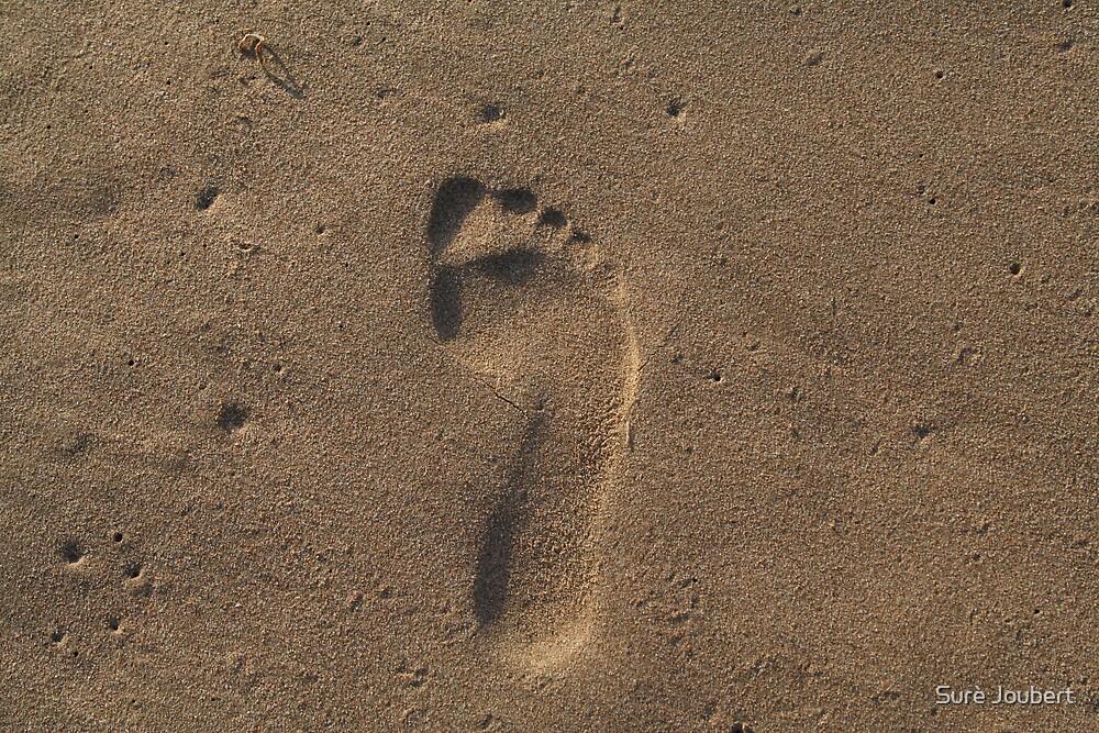 Footprint by Surè Joubert