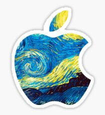 Apple logo Sticker