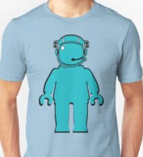 Banksy Style Astronaut Minifigure T-Shirt