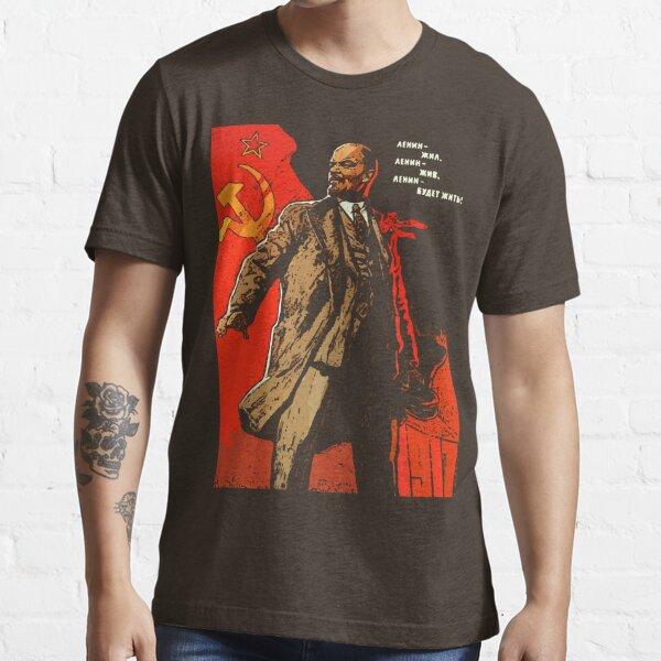 Lénine a vécu, Lénine vit, Lénine vivra pour toujours! T-shirt essentiel