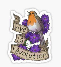 Vive la Revolution Sticker