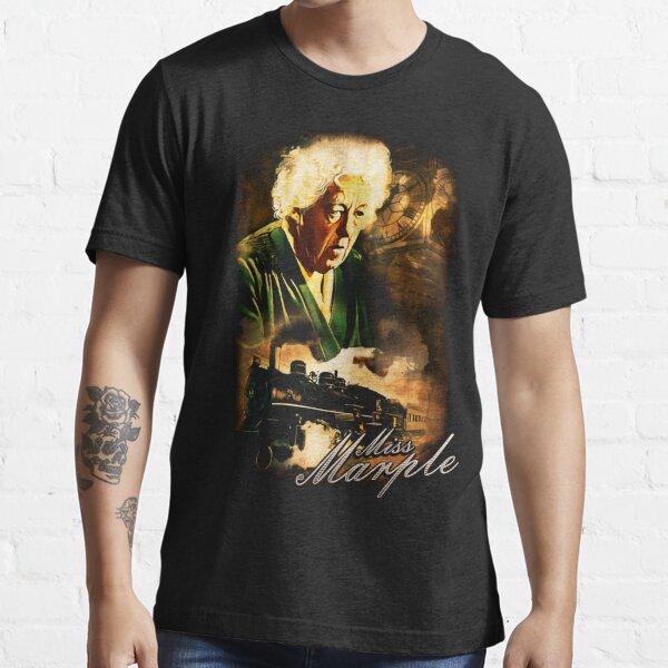 Klassisches Agatha Christie Fräulein Marple Design Essential T-Shirt