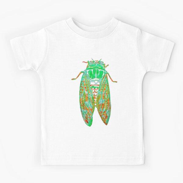Cicada at Night Kids T-Shirt