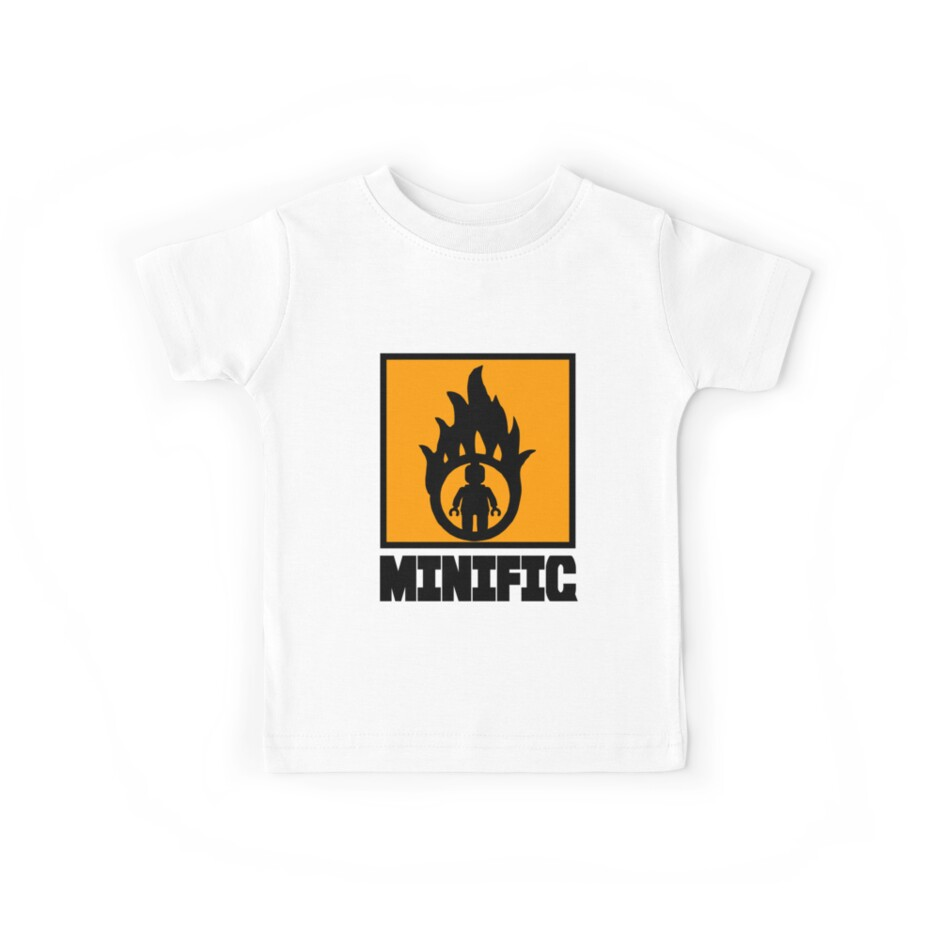 MINIFIG IN FLAME LOGO by Customize My Minifig