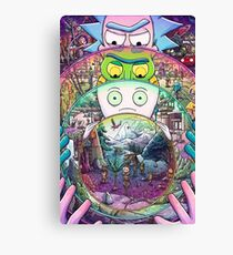 Ricks Must Be Crazy Canvas Print